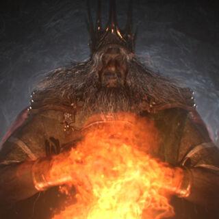 Gwyn, pierwszy Władca Pogorzelisk