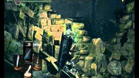 Video Dark Souls Divine Ember Watchtower Basement Key Location