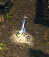 Special bonfire