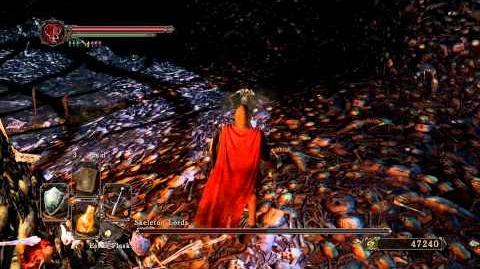 Dark Souls 2 - Skeleton Lords (Melee)