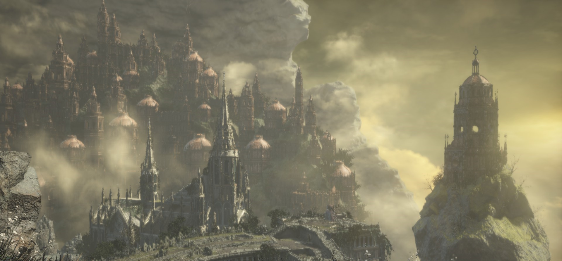 The Ringed City Wallpaper: The Ringed City (location)