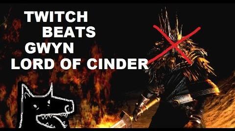 Twitch Plays Dark Souls Gwyn, Lord Of Cinder Defeated Ending