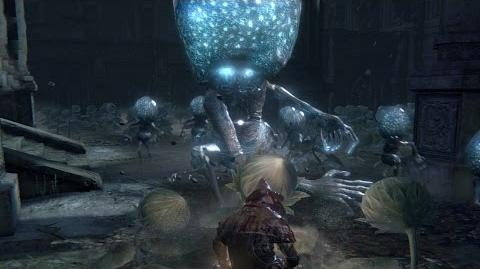 Bloodborne Celestial Emissary Boss Fight