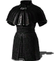 Black Cleric Robe