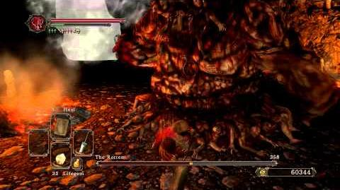 Dark Souls 2 - The Rotten (Arm Chopping Strategy)