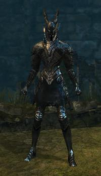 Black knight set female