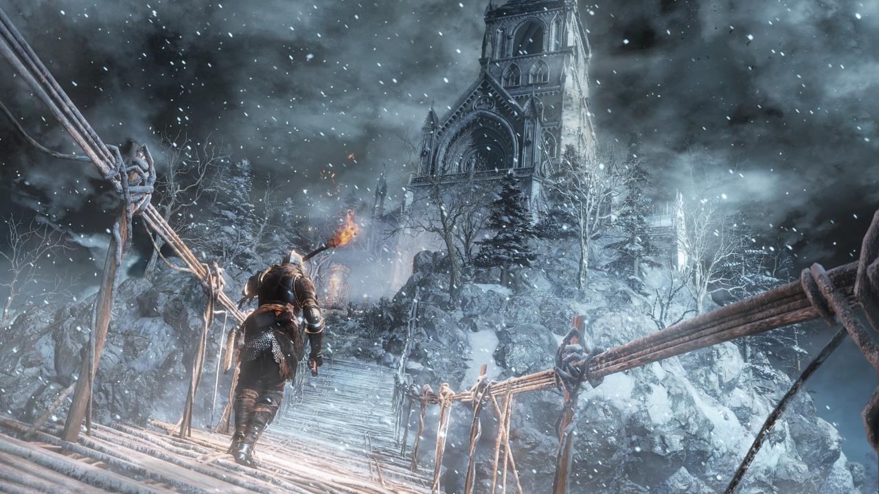 Painted World of Ariandel   Dark Souls Wiki   FANDOM powered