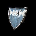Blue Wooden Shield (DSIII)