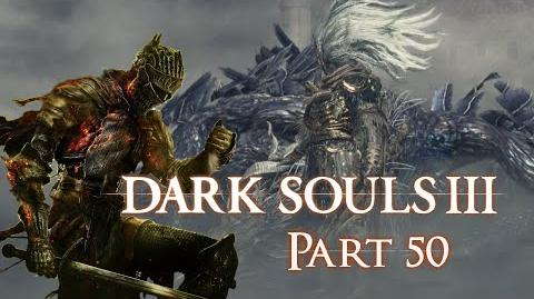 The Nameless King of the Storm - Dark Souls 3 BLIND Part 50 - Let's Play Hard