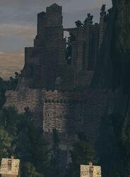 Sens fortress exterior