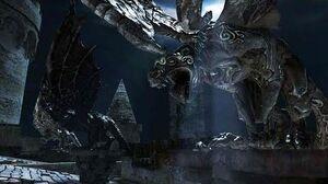 Битва с Гаргульями с Башни - Dark Souls II