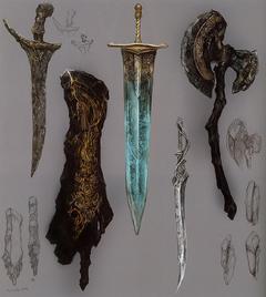 Драконье оружие (Концепт-арт)