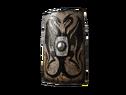 Большой щит с двумя драконами