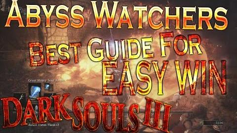 Dark Souls 3 - Abyss Watchers Boss Tutorial (BEST GUIDE)