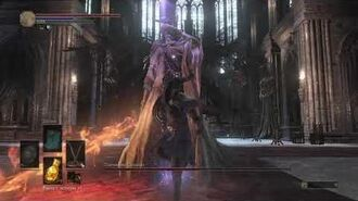 Dark Souls III - Понтифик Саливан (Легкое убийство по спидранерски) - Pontiff Sulyvahn easy murder