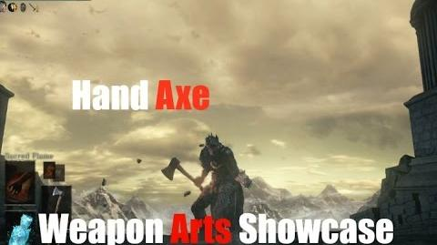 Dark Souls 3 Hand Axe - Weapon Arts Showcase-0