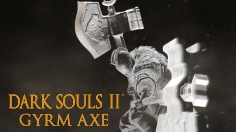 Dark Souls 2 Gyrm Axe Tutorial (dual wielding w power stance)