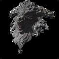 Большой щит с драконьей головой