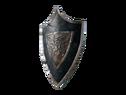 Треугольный щит короля