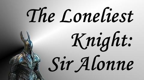 Dark Souls II - The Loneliest Man in Drangleic Sir Alonne