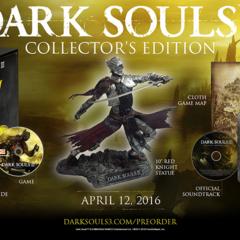 Edycja Kolekcjonerska Dark Souls III z figurką Duszy Pogorzelisk