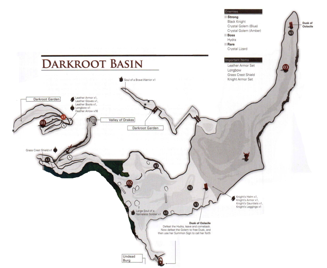 Dark Souls Darkroot Garden Map | Fasci Garden
