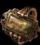 Громовое кольцо с камнем