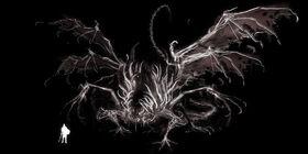 Gaping dragon art