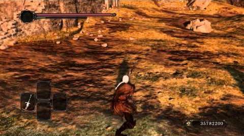 Majestic sword aka Artorias Greatsword moveset and possesed armor sword.