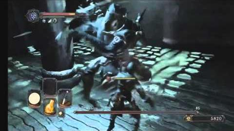 Dark Souls II Flexile Sentry Boss Battle