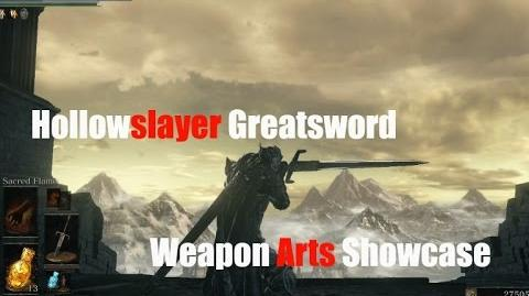 Dark Souls 3 Hollowslayer Greatsword - Weapon Arts Showcase