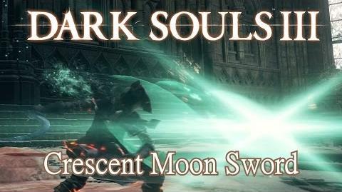Crescent Moon Sword Moveset (Dark Souls 3)
