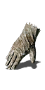 White Priest Gloves
