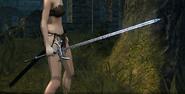 Velka rapier in game