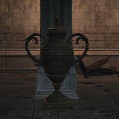 Rodzaj wazy w pomieszczeniu z irithyllskimi niewolnikami, z którego uwalniany jest mróz po rozbiciu