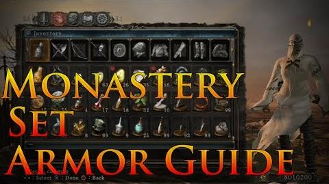 Dark Souls 2 Monastery Set Armor Guide Painting Guardian Armor from Dark Souls