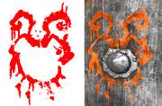 Wargod Wooden Shield symbol