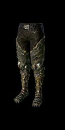 Black Dragon Leggings