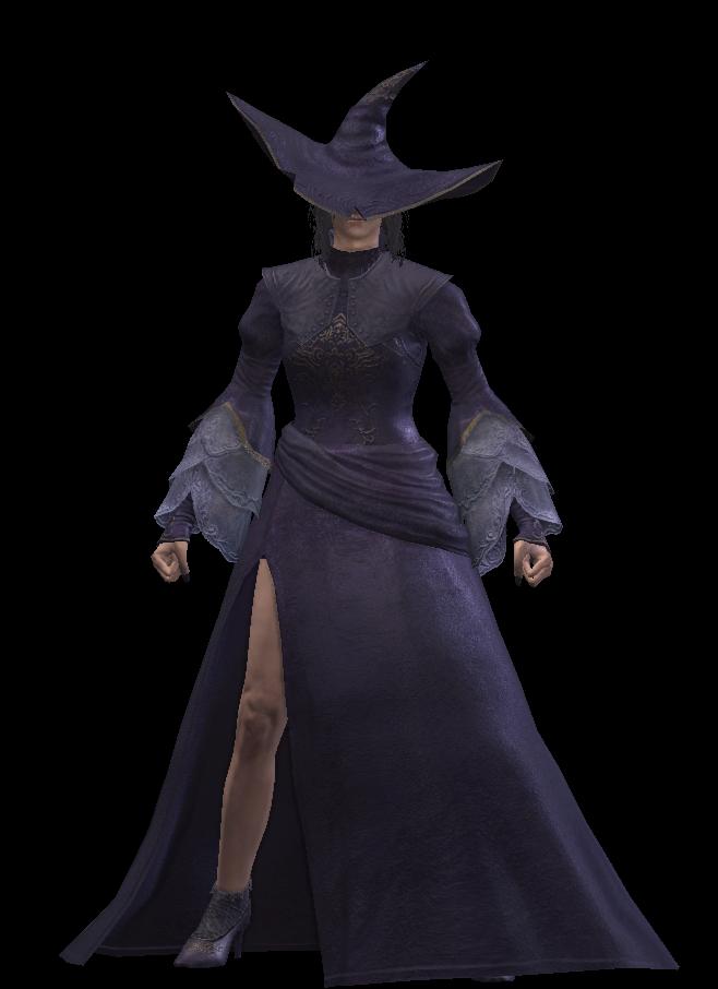 Black Witch Set (Dark Souls III)