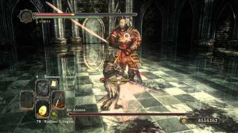 Dark Souls II - Sir Alonne Parry