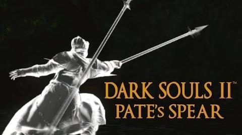 Dark Souls 2 Pate's Spear Tutorial (dual wielding w power stance)