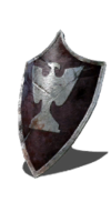 Silver Eagle Kite Shield