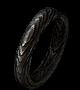 Кольцо из темного дерева