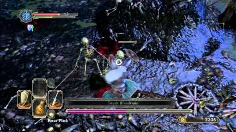 Dark Souls 2 Beta Stress Test Part 8 Boss Fight Skeletons Lords Solo