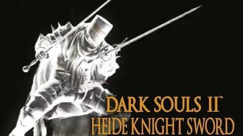 Dark Souls 2 Heide Knight Sword Tutorial (dual wielding w power stance)