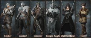 Classes - Dark Souls II Beta
