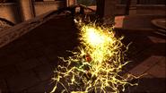 Gargoyle lightning attack