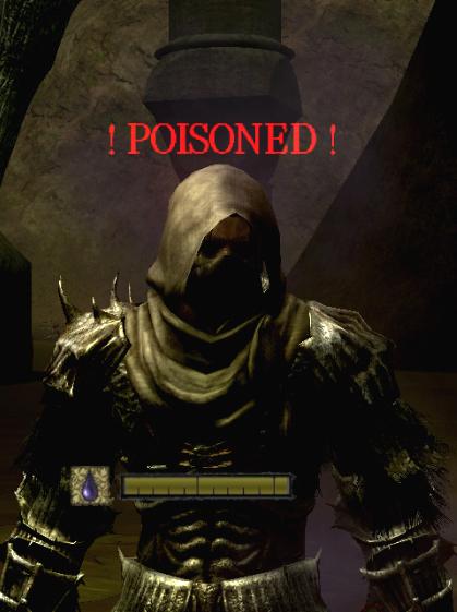 Dark souls cure toxic
