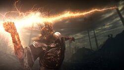 Sunlight spear