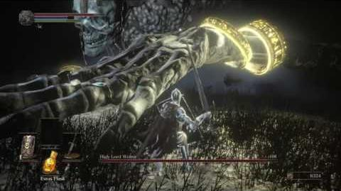 DARK SOULS III High Lord Wolnir boss fight